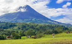 Wulkan Arenal w Kostaryce