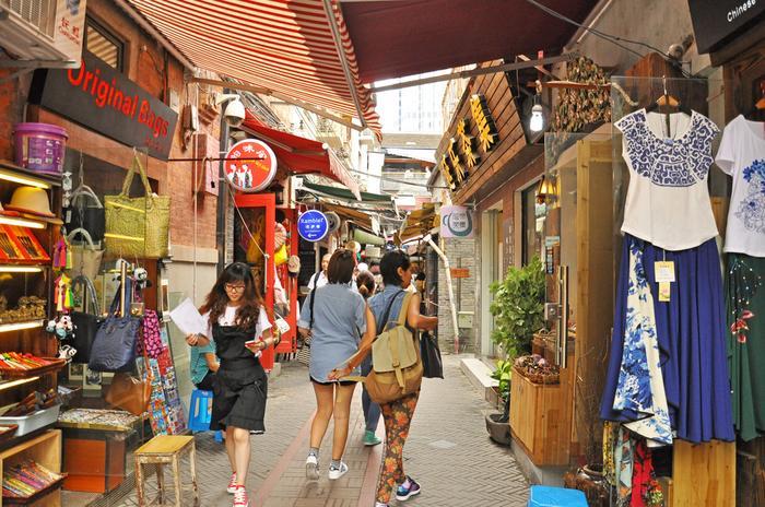 Zakupy w Szanghaju
