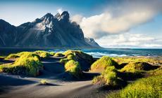 Stokksnes na południowym wschodzie Islandii