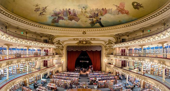 El ATeneo Grand Splendid w Buenos AIres