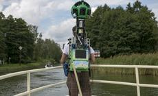 Street View Trekker na rzece