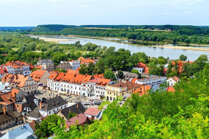 Panorama Kazimierza Dolnego