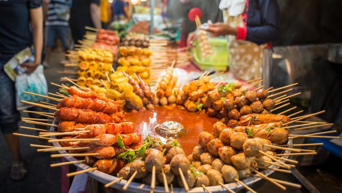 Street food w Bangkoku