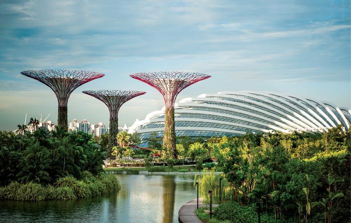 Gardens by the Bay to jedna z najbardziej kosztownych inwestycji w Singapurze