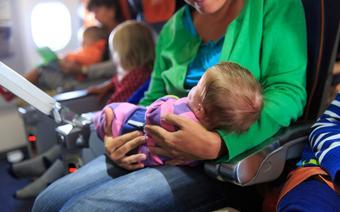 Noworodek w samolocie