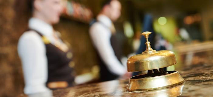 Recepcja hotelowa