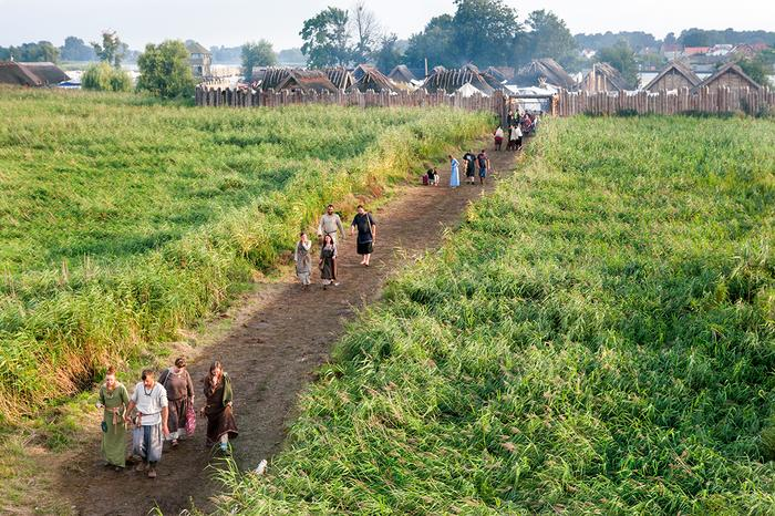 Festiwal Słowian i Wikingów odbywa się w skansenie i miasteczku namiotowym