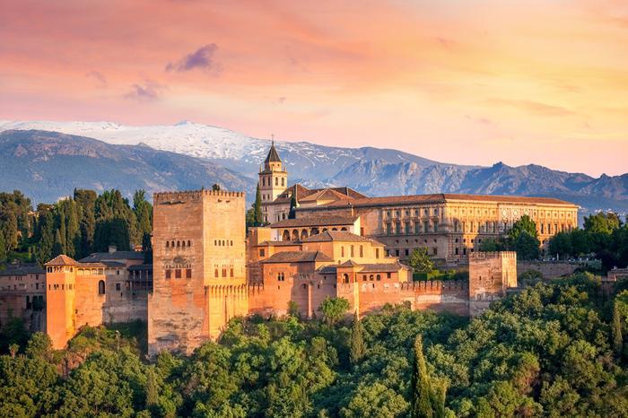 Alhambra to największa atrakcja Grenady