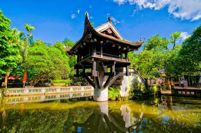Pagoda w Hanoi