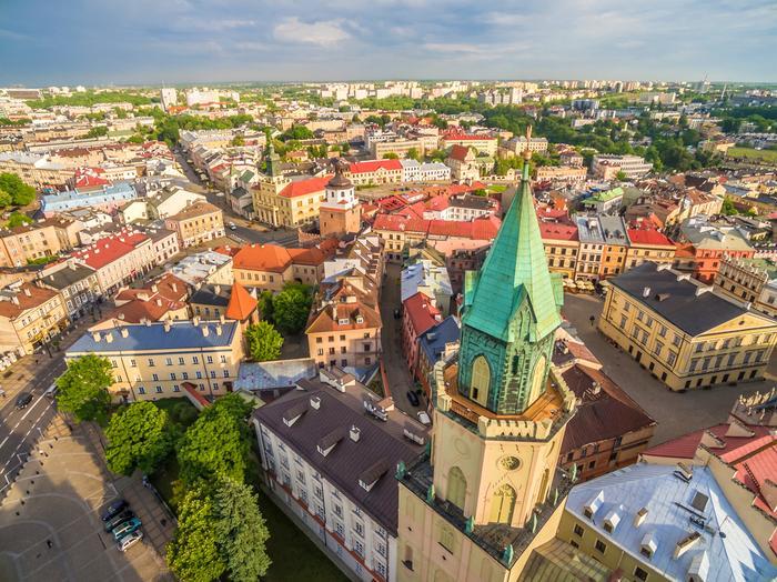 Lublin: Wieża Trynitarska