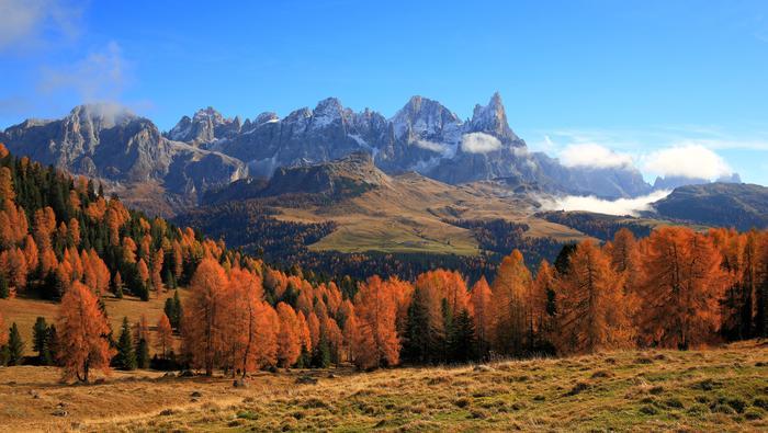 Trentino jesienią