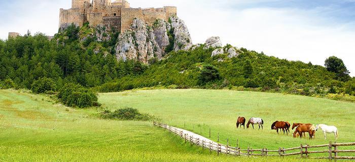 Aragonia - Zamek Loarre