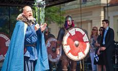 Wikingowie podczas Dnia Skandynawskiego