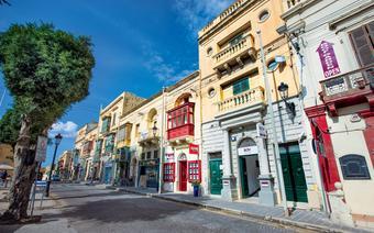 Victoria, stolica wyspy Gozo, bywa też określana dawną arabską nazwą Rabat