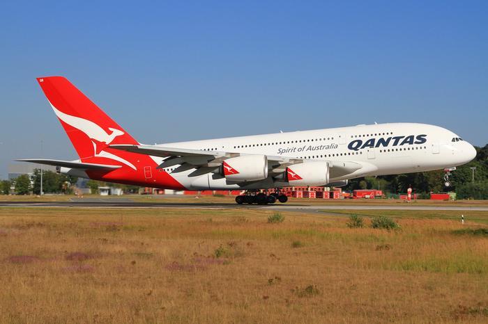Samolot linii Quantas