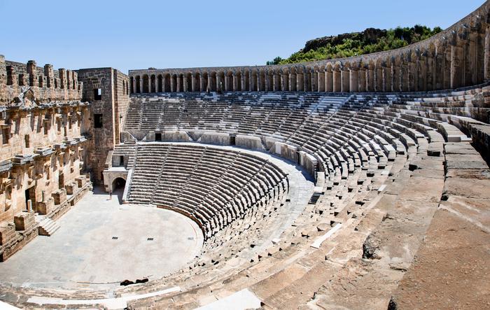 Teatr w Aspendos