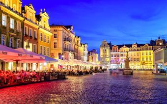 Wieczór w Poznaniu