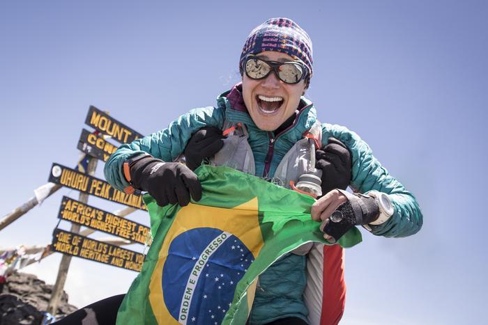 Fernanda Maciel wbiegła na Kilimandżaro w rekordowym czasie