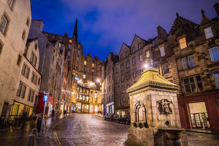 Stare miasto w Edynburgu