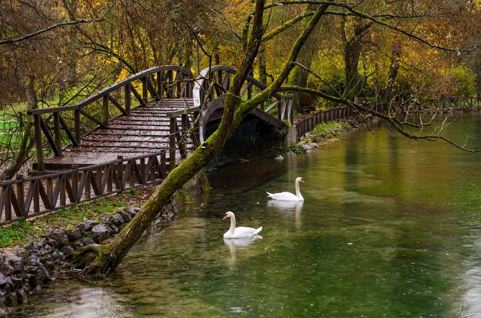 Park Vrelo Bosne w Sarajewie