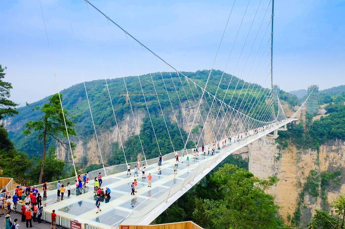 Most w Zhangjiajie
