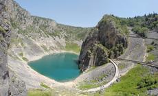 Jezioro Niebieskie w Chorwacji