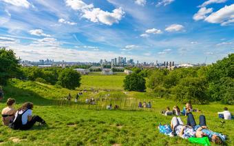 Greenwich Park w Londynie