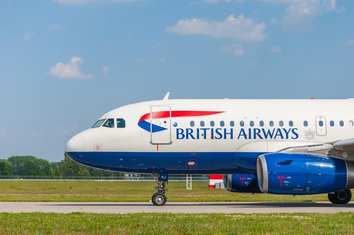 Samolot linii British Airways