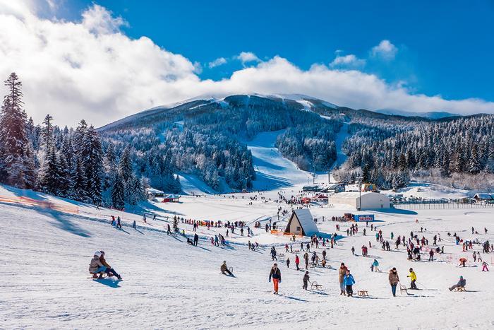 Ośrodek narciarski Bjelasnica w Bośni i Hercegowinie
