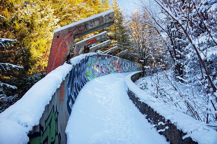 Tor bobslejowy w okolicach Sarajewa