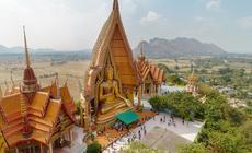 Świątynia Jaskini Tygrysa w prowincji Kanchanaburi w Tajlandii