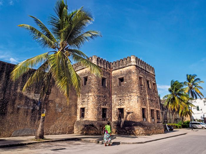 Stary Fort w Stone Town