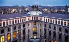 """Socrealistyczne budynki Centrum Administracyjnego Huty im. Tadeusza Sendzimira bywają nazywane """"Pałacem Dożów"""" lub """"Watykanem"""""""