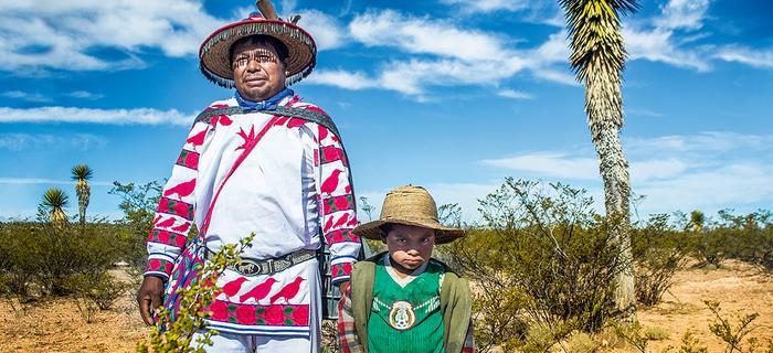 Indianie stanowią ok.20%ludności Meksyku. Wixaritari są jedną zmniejszych grup
