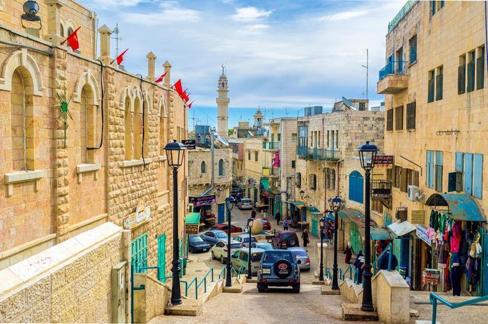 Ulica w Betlejem