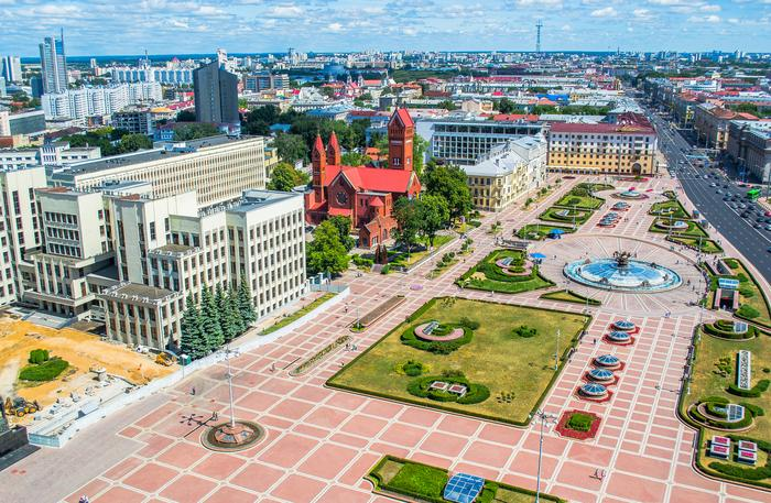 Mińsk – stolica Białorusi