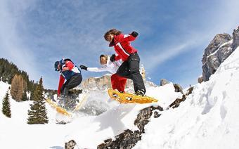 Raiety śnieżne Trentino