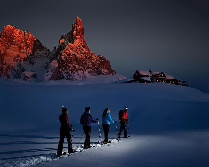 Rakiety śnieżne w Trentino