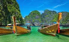 Maya Bay w Tajlandii