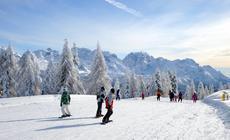 Narty w Dolomitach (Trentino)