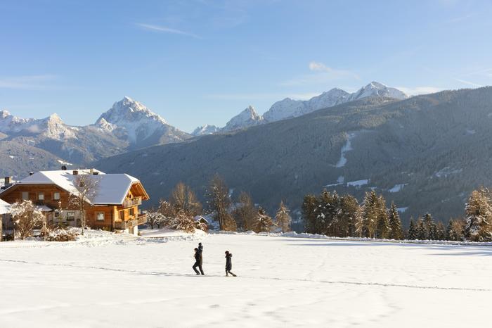 Południowy Tyrol zimą
