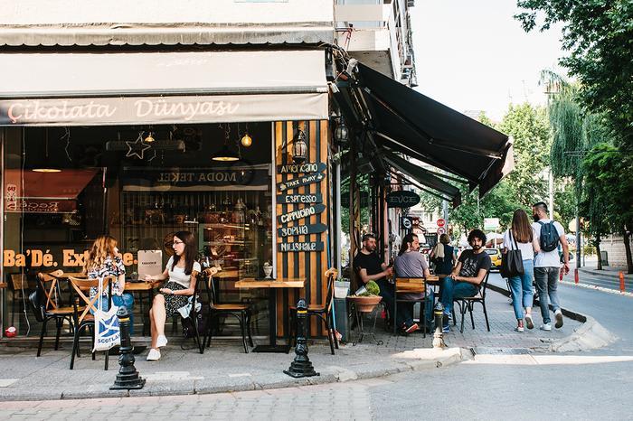 Kawiarnia w dzielnicy Kadikoy