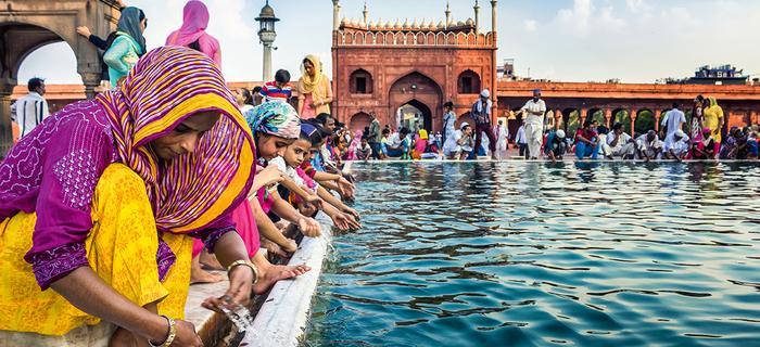 Sercem Starego Delhi jest Wielki Meczet