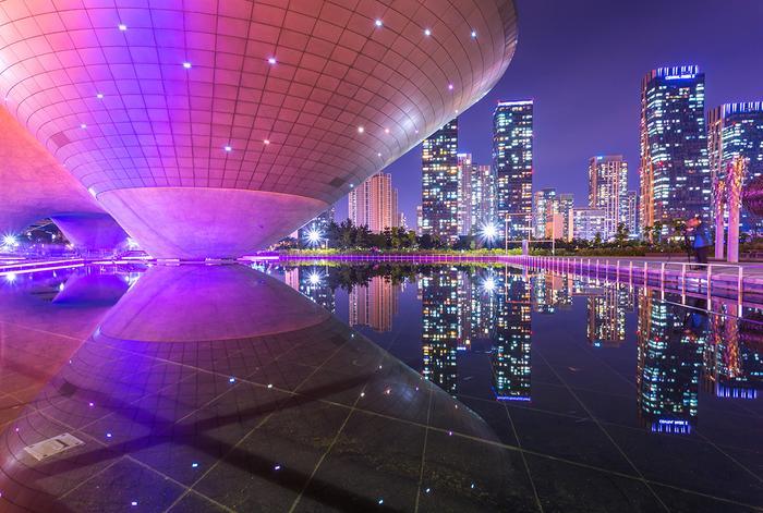 Songdo w Korei Południowej
