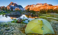 Pacific Crest Trail przebiega m.in. przez Sierra Nevada