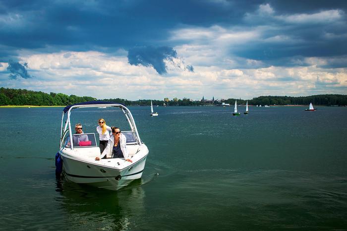 Ukiel to największe jezioro w Olsztynie
