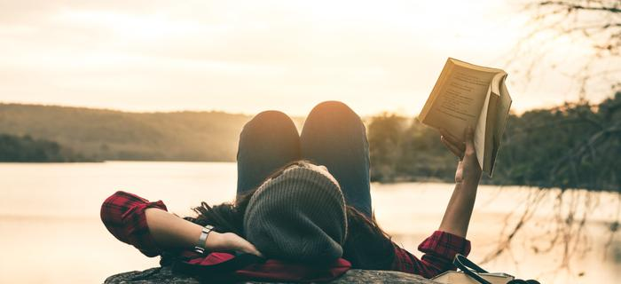 Z książką w podróży