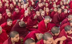 Mnisi buddyjscy w Dharamsali