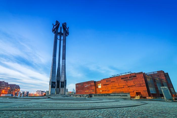 Europejskie Centrum Solidarności i Pomnik Poległych Stoczniowców
