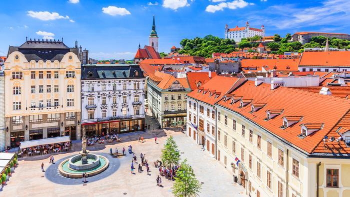 Rynek w Bratysławie
